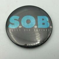 1987 S.O.B. Sweet Old Buzzard Hallmark Cards Button Badge Pin Pinback Vtg Y1