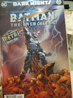 BATMAN The Merciless #1 Dark Nights Metal Tie-in DC Comics 1st Print Foil NM