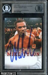 2020 Leaf Boxing Special Edition Mike Tyson Signed AUTO BGS BAS Authentic