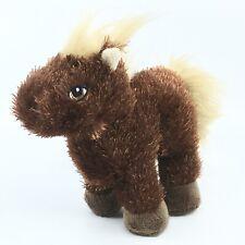 Ganz Webkinz Lil'Kinz Horse HS103 Plush Stuffed Animal Brown Beige