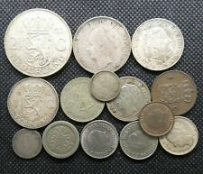 More details for a job lot of  netherlands holland dutch coins silver 1904-1960 - bz013