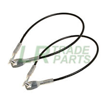 LAND ROVER DEFENDER 90 110 130 REAR TAILGATE SUPPORT STRAPS CABLES X2 BYC500070