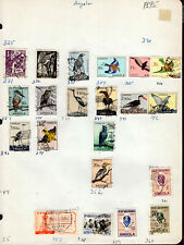 ANGOLA Stamp Lot #18: Assorted Scott #331-352 & #357-361 MH & Used, Some Better