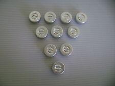 50 ALUMINIUM LIDS FOR 20mm HCG VIAL CAPS FOR VIALS
