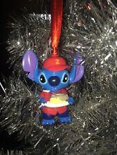"2.5"" Disney Lilo and Stitch Custom Christmas Ornament Baseball Player Stitch"