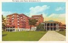 Group Of 8 Lake Placid New York Hotels Historic Bldgs Antique Postcards K32250