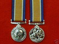 Quality WW 1 1914-20 British War Medal Miniature Medals