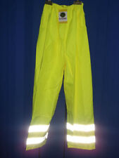 HYDRO-FLO YELLOW HI-VIS WATERPROOF OVER TROUSERS SIZE EX.EX.EX.EX. LARGE BNWT