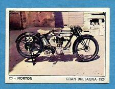 MOTO 2000 - Panini 1972 -Figurina-Sticker n. 23 - NORTON -Rec