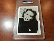 MAUREEN O'HARA - Signed Photograph w/ Inscription - PSA DNA CERTIFIED AUTHENTICS
