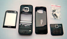 Black case Cover Housing facia Fascia Faceplate for nokia N78 n 78