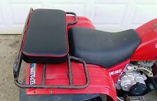 "24"" X 12"" RED REAR RACK SEAT PAD ATV ATC UTV GO CART GOLF CART PASSENER SEAT"