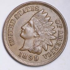 1899 Indian Head Small Cent CHOICE UNC FREE SHIPPING E178 ANM