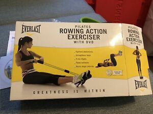 Everlast Pilates Rowing Action Exerciser with DVD
