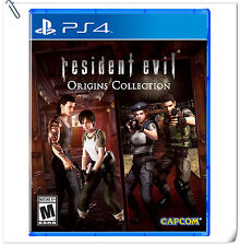 2 IN 1 PS4 Resident Evil Biohazard Origins SONY PLAYSTATION Capcom Action Games