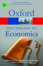 A Dictionary of Economics (Oxford Paperback Reference)-ExLibrary