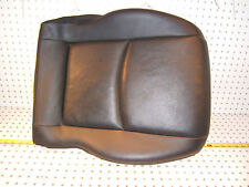 Mercedes 04 W203 C Sport 4D Front Pass R seat LEATHER CHRARCOAL Cushion 1 Cover