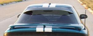 Fits 93-97 Probe GTS Acrylic Smoke Solarwing Rear Window Deflector Spoiler 51161