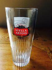 BELGUIM STELLA ARTOIS 30cl GLASS WITH CARTOON CHARACTER