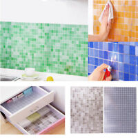 Fashion Wall Stickers Furniture Oilproof Bathroom Self-adhesive Mosaic Wallpaper
