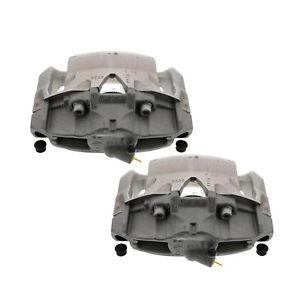 For Volvo S60 XC70 Pair Set of 2 Front Brake Caliper w/ 316 mm Brake Disc ATE