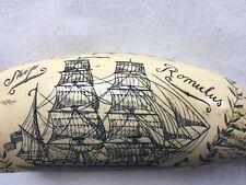 "Schrimshaw Replica ""Dearest Rose"", ""Ship Romulus"""