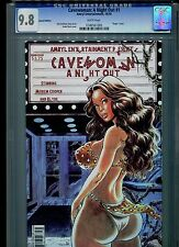 Cavewoman: A Night Out #1 CGC 9.8 (2010) Budd Root Virgin Cover Special Edition