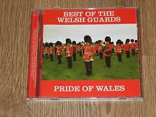 BEST OF THE WELSH GUARDS CD  THE PRIDE OF WALES  MILITARY MARCHING MUSIC  VGC