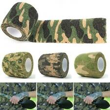 Camouflage Tape Hunting Tool Camo Duct Wrap Stretch Bandage Forest Camo Tape NEW