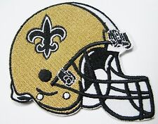 LOT OF (1) NFL NEW ORLEANS SAINTS EMBROIDERED HELMET PATCH ITEM # 24