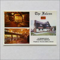 The Falcon 24 Cromer Rd Norwich Norfolk 0603410110 Bill & Joanne Postcard (P371)