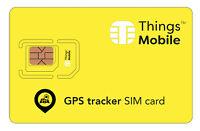 SIM Card Things Mobile per GPS TRACKER. Con 10 € di credito incluso