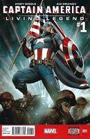 Captain America Living Legend #1 Unread New Near Mint Marvel 2013 **28