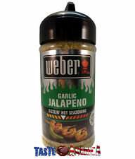 Weber Garlic Jalapeno Sizzlin Hot Seasoning 164g