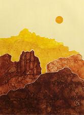 """Martha Slaymaker """"Eldorado"""" Signed & Numbered Fine Art Etching western landscape"""