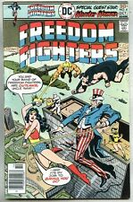 Freedom Fighters #4-1976 fn/vf Uncle Sam / Wonder Woman