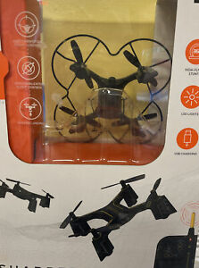 Sharper Image DX-2 Stunt Drone Rechargeable 1012255 - NEW SEALED