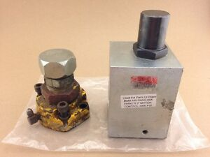 """Used For Parts Or Repair MMB-160-SAGS-89A PARKER 2"""" MOTOR CONTROL-3000 PSI"""