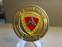 US Marine Corps 3rd Marine Division Pacific CMDCM Challenge Coin #969A