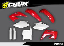 Polisport Honda Restyle Plastik Set 2002-2007 CR125 CR125R CR250 CR250R Schwarz