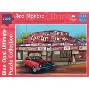 Blue Opal 02114-C Jenny Sanders Red Monaro 1000pc Jigsaw Puzzle* Brand New