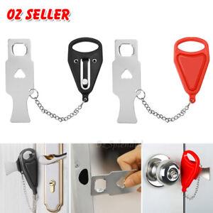 Portable Door Lock Hardware Security Safety Travel Hotel Home Addalock Safe Lock