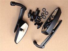 Blade Mirrors For Kawasaki Vulcan Honda Rebel Shadow Yamaha R1 R6 Cruiser Black