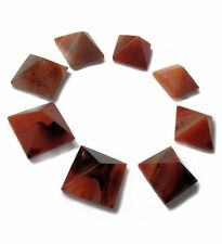 "Crystal Gemstone Carnelian Stone Pyramid (25mm - 1""), Reiki, and Feng Shui Decor"