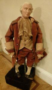 RARE Antique 19th Century Handcrafted George Washington DOLL  MANIQUIN