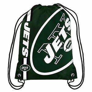 New York Jets - - Drawstring Bag - Backpack - Gym Bag (NFL)