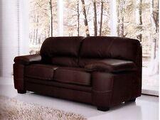 divano imbottito 2 posti in ecopelle pelle salotto di ottima made italy salotto