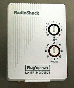 X-10 BSR LM465 Remote Control 300 Watt Lamp Module 61-2682B X10 Home Automation