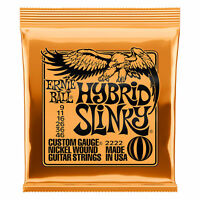 Ernie Ball 2222 Nickel Hybrid Slinky Electric Guitar Strings Single Pack (9-46)