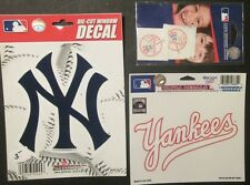 New York Yankees - Decal / Sticker Package (g)